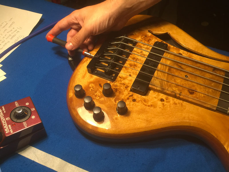 Corso di Liuteria per Backliner Guitar Tech